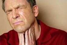 без причины горло не болит