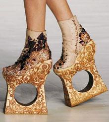 от такой обуви только проблемы