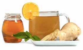 имбирный чай с медом - просто наслаждение